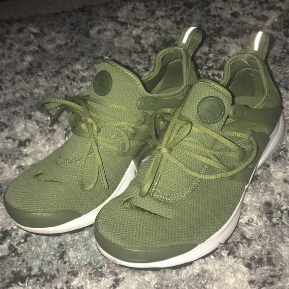 newest 6edc9 7b79f Nike Air Presto Green Womens. M 5bc62c972aa96aaf02234a4d
